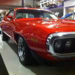 Muscle car garage en showroom